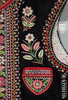 Лемки. Камізелька (безрукавка) чоловіча | Етнографічна колекція | krovets.com.ua