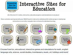 Technology Tailgate: Interactive Sites for Education