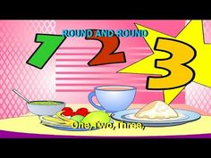 Round And Round The Butterdish || Kids Rhymes with Lyrics