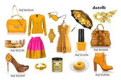 Amarelo para iluminar os looks mais sérios do inverno!