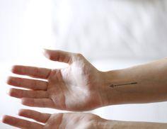 Arrow Temporary Tattoo Bow Tattoo by AnteatersInk on Etsy