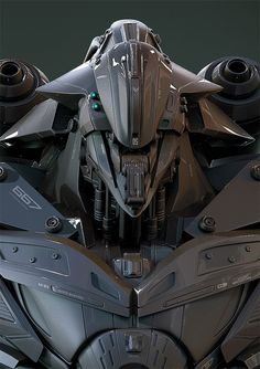ArtStation - ANDROMECH (GRENS), by Christophe LACAUXMore robots here.