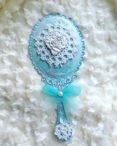 Vanity Mirror Enchanted Mirror Princess Hand by ShabbyChicJCouture