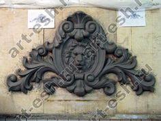 Ornaments Design, Wood Ornaments, Cement Art, Plaster Art, Baroque Design, Wood Carving Art, Stuck, Carving Designs, Environmental Art