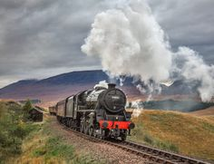 The world famous Jacobite steam train in Scotland