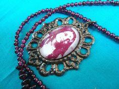 Sri Anandamayi Ma Necklace by iadornu on Etsy