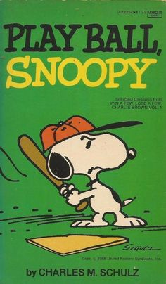 Play Ball Snoopy by Charles M. Schulz - Paperback - S/Hand
