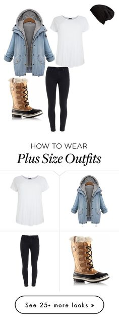 """""""Untitled #21"""" by soccerfish2279 on Polyvore featuring Paige Denim, SOREL and Free People"""