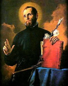 St. Cajetan who loved the Church and its beauty and the poor with their beauty.  The Patron of those unemployed.
