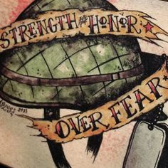 Hey, I found this really awesome Etsy listing at http://www.etsy.com/listing/84474901/army-strength-and-honor-over-fear