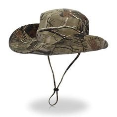 e82672cf Qhome Outdoor Camouflage Lightweight Bucket -UPF 50 Sun Protection Review Fishing  Bucket Hat, Travel