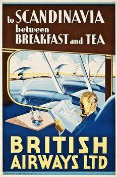 1935 British Airways advertisement.