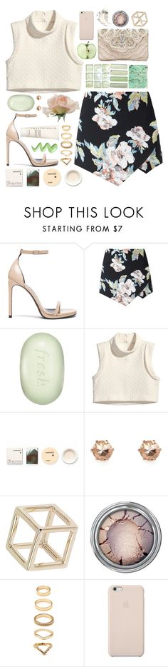 """""""Summer Breeze"""" by kara-burke ❤ liked on Polyvore featuring Yves Saint Laurent, Fresh, Forever New, H&M, Korres, River Island, Topshop, Forever 21, Black Apple and Chantecaille"""