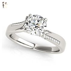 Medici Treasures Style MT50859 - Wedding and engagement rings (*Amazon Partner-Link)