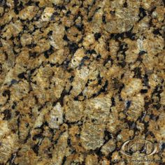 """This is what the granite we purchased is. """"butterfly gold"""""""