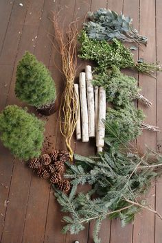 33 Vintage Winter Planting Decor Ideas To Realize Your Dreams - House plants are also known as indoor plants. These plants can be natural, seasonal, or artificial and can also be used for ornamentation. Christmas Window Boxes, Winter Window Boxes, Front Door Christmas Decorations, Christmas Porch, Farmhouse Christmas Decor, Rustic Christmas, Christmas Wreaths, Christmas Crafts, Winter Porch Decorations