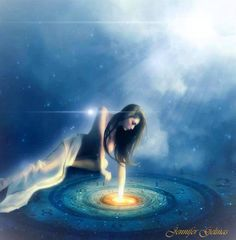 ✣...When we think of something, we are actually capturing its Essence. Every thought is a Reality. When our Imagination runs loose, we are Creating other Realities that exist as Waves of Possibilities... ✣ Science of One arTist; Amygdalah