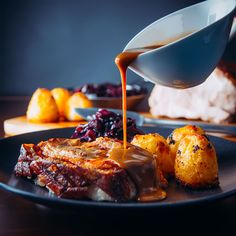 I have my Mother in Law visiting this week and this dish is a follow up to my instant pot pork chop with red cabbage dish and will be our Sunday 'dinner' this week. With there being just the two of us it is rare for