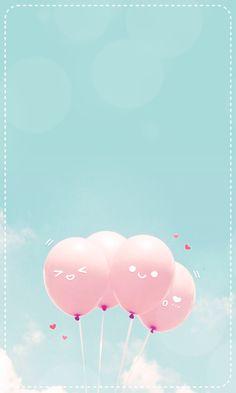 iPhone壁纸 萌物 风景 背景 套图 韩系 插画 素材 ╯з ︶ღ 麽麽