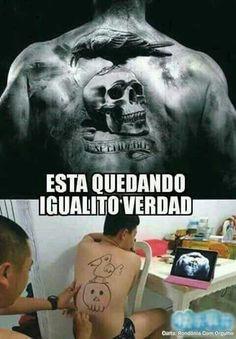 Tatuaje  #divertido #chiste