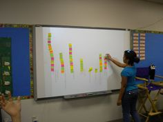 Bar Graph - on the first day students have a few minutes to look through their reading book and flag 3 stories that look interesting to them. Graph this on the board About Me Activities, Classroom Activities, Classroom Ideas, 3rd Grade Classroom, School Classroom, Future Classroom, Beginning Of School, First Day Of School, Middle School