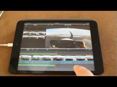 iMovie on iPad Mini - Tips And Tricks GoPro video Gopro Diy, Gopro Video, Gopro Hero 3, Bible Covers, Ipads, Ipad Mini, Photography Tips, Cool Photos, Challenges