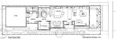 Craftsman Style House Plan - 3 Beds 3 Baths 2460 Sq/Ft Plan #454-12 Floor Plan - Main Floor Plan - Houseplans.com