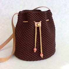 Marvelous Crochet A Shell Stitch Purse Bag Ideas. Wonderful Crochet A Shell Stitch Purse Bag Ideas. Crochet Cord, Crochet Shell Stitch, Love Crochet, Crochet Stitches, Crochet Patterns, Crochet Hair, Blanket Crochet, Crotchet Bags, Knitted Bags