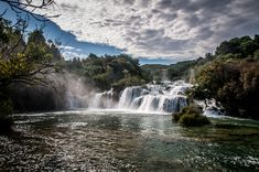 breathtakingdestinations: Krka National Park Croatia Best Picture For vacation usa family For Visit Croatia, Croatia Travel, Dubrovnik, Parc National, National Parks, Monuments, Krka National Park Croatia, Filming Locations, Cool Places To Visit