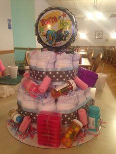 Adult Diaper Cake