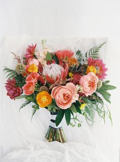 Flowers by Lace and Lilies, Bridal Bouquet, Colorado Wedding, Peach Bouquet, Countdown to 2016 // Best of 2015: Bouquets