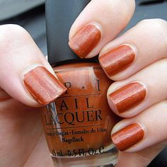 OPI Bronzed to Perfection