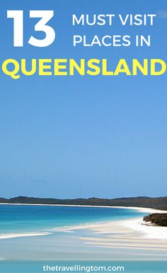 There are so many great places to visit in Queensland, such as Brisbane and Cairns, that it can be hard to see them all. The number of things to do in Queensland is huge. You can go diving in Cairns and relax on the Gold Coast! If you visit Queensland, be sure to visit these beautiful places!