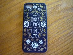 """Iphone 5s case with """"Once Upon A Time"""" saying on it by Belkin 