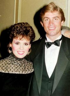 Marie Osmond & her husband in  Nashville.