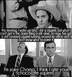 CanNOT wait for Anchorman 2..