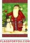 Santa's Snowman Garden Flag Rabbit Garden, House Flags, Garden Flags, Bunny Rabbit, Snowman, Santa, Christmas Ornaments, Toys, Holiday Decor