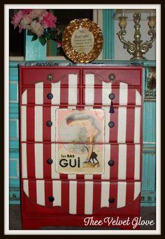 Giuchie Giuchie Ya Ya Da Da Unique Frenchy Red by TheeVelvetGlove,
