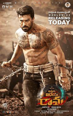 Ram Charan's Vinaya Vidheya Rama Movie Releasing Today Poster - Social News XYZ RAM KONIDELA... 🔥🔥    VIDWAMSAM FROM TODAY!!!    నేడే విడుదల #VinayaVidheyaRama 💥    #VVROnJan11 #RamCharan #KiaraAdvani #vivekoberoi #DSP #Dasari #DVVMovies #BoyapatiSreenu