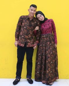 Kebaya Hijab, Kebaya Dress, Batik Kebaya, Kebaya Muslim, Batik Dress, Casual Hijab Outfit, Outfits Casual, Family Outfits, Kebaya Simple