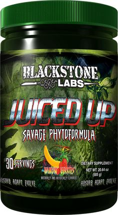 Juiced Up | Greens Formula | Blackstone Labs.