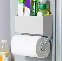 6e6c6a10dc Amazon.com  My Refrigerator Rack Magnetic Fridge Paper Towel Holder  Kitchen    Dining