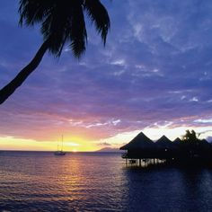 Tahiti is the largest island in the French Polynesian chain.