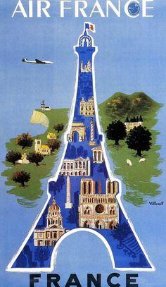 Villemot 1952 Air France