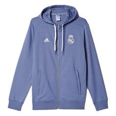 A full-zip football hoodie for loyal fans of Real Madrid. Support Real  Madrid 19a75d79b1e