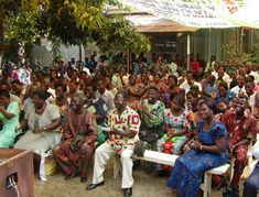 An SGI meeting in Togo, West Africa