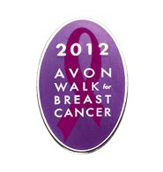 """""""Avon Walk"""" 2012 Lapel Pin"""