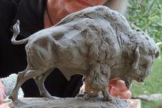 Bison by Sandy Scott