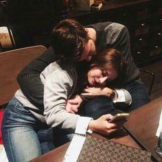 *:・゚Cameras Flash Part Three *:・゚ Boyfriend Goals Relationships, Boyfriend Goals Teenagers, Relationship Gifs, Relationship Goals Pictures, Future Boyfriend, Boyfriend Girlfriend, Couple Goals Cuddling, Romance, Ulzzang Couple