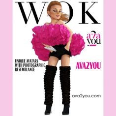 WOK is a fake #fashion magazine. Inspired by Vogue Paris February 2018